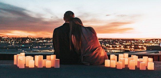 Honeymoon auf einer einsamen Insel ist Romantik pur.