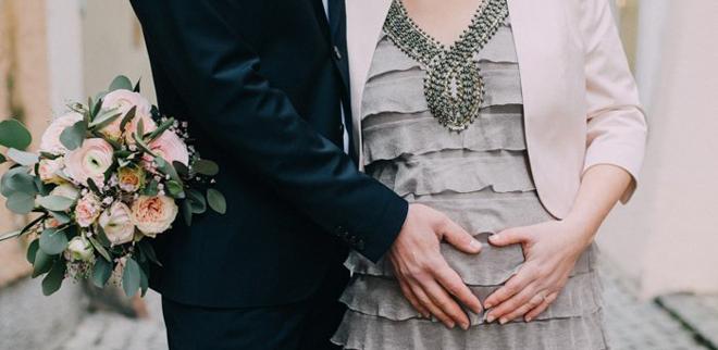 Schwanger heiraten: Einfach machen