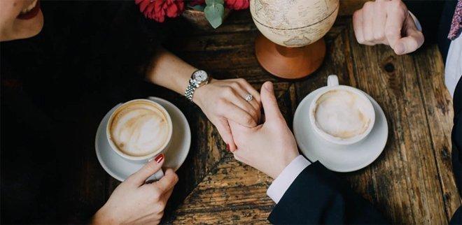 Verlobung: Bild auf Instagram posten