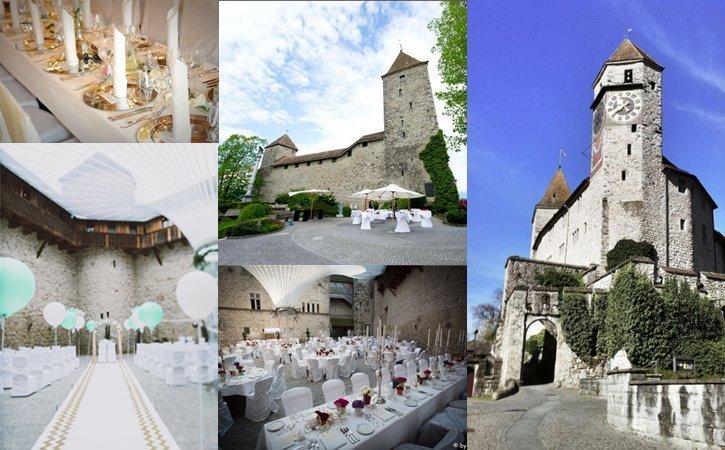 Hochzeitslocation in Schweizer Schloss