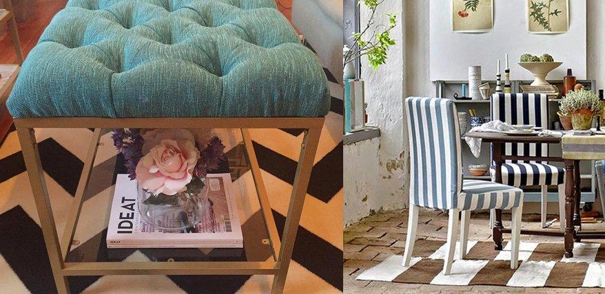 Ikea Hacks: Aufmöbeln mit Polstern und Überzügen.