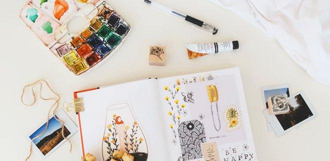 Kreativ sein leicht gemacht: Malen