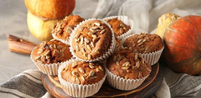 Kokos Kürbis Muffins