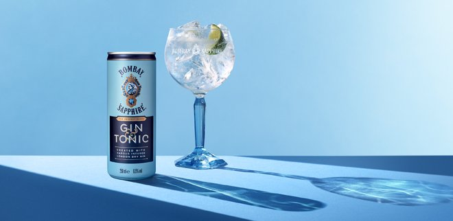 Bombay Sapphire & Tonic bereits ready to drink in der Dose