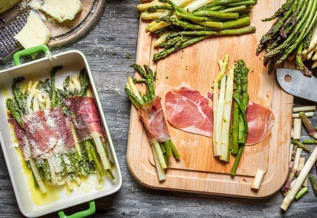 Grüne Spargeln kochen: Wir setzen alles auf Grün!