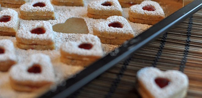 Weihnachtsguetzli Rezepte: Spitzbuebe