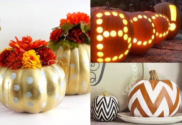 A propos Halloween Kürbis: Diese 16 neuen Deko-Ideen stehen ihm gut