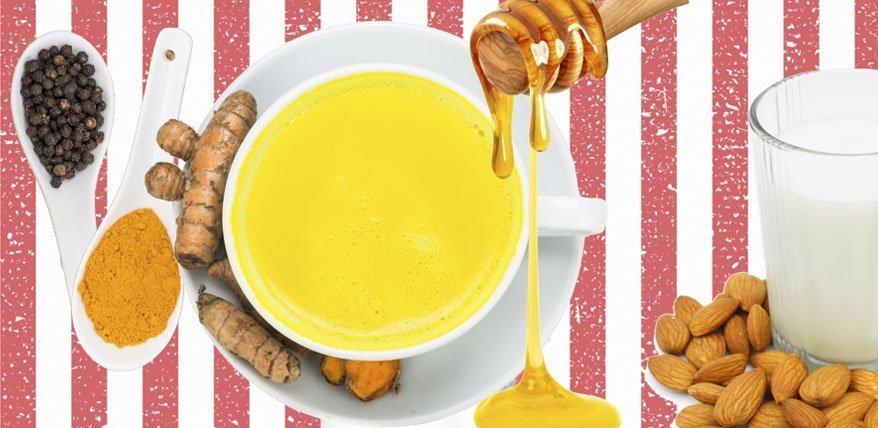 Goldene Milch das Allheilmittel aus der Yoga Küche