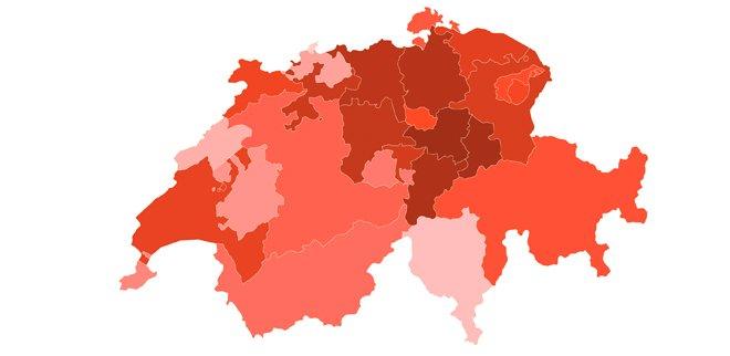 Karte Toys Schweiz