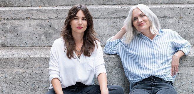 Autorinnnen Leoni Hof und Priska Amstutz: Das neue 40