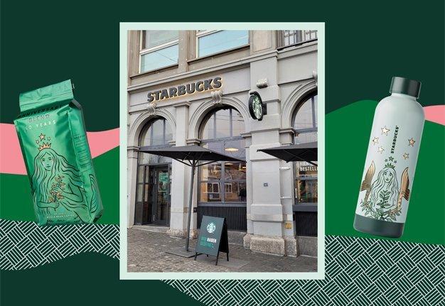 Happy Birthday Starbucks!