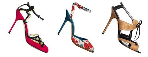 Manolo Blahnik lies sich von Matisse, Olymp und englischen Gärten inspirieren.