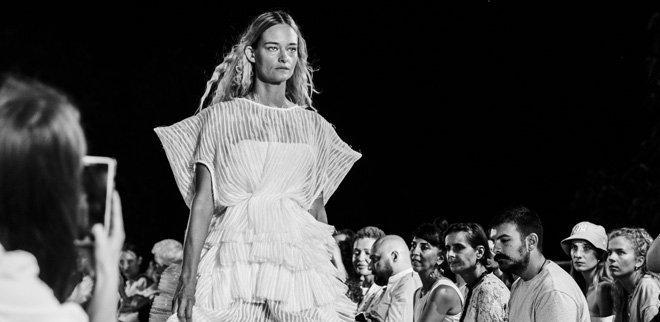 Model Nadine Strittmatter im Interview