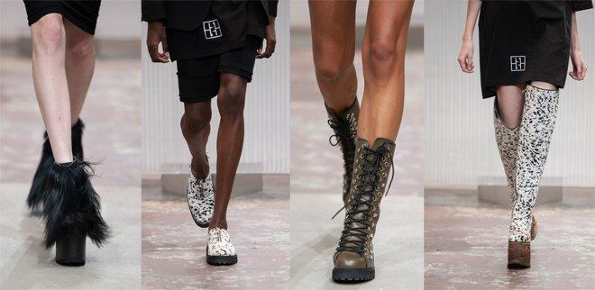 Schweizer Schuhlabel Kandahar auf dem Laufsteg der Mode Suisse Edition 18