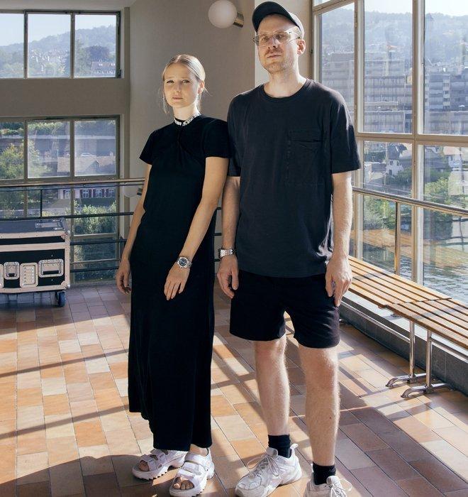 Das Schweizer Design-Duo hinter dem Label AWS