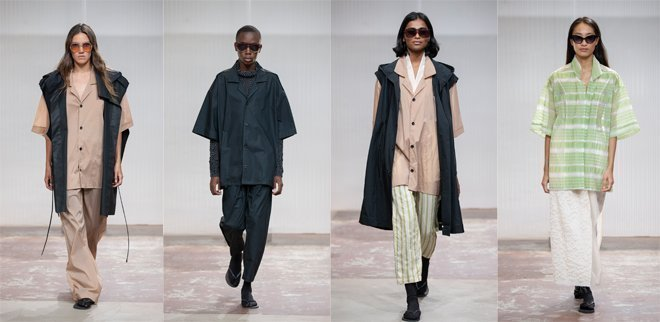 Tamy Glauser an der Mode Suisse