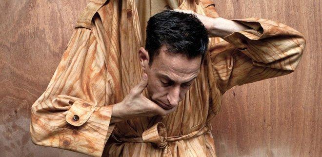 Peformance Künstler Martin Zimmermann
