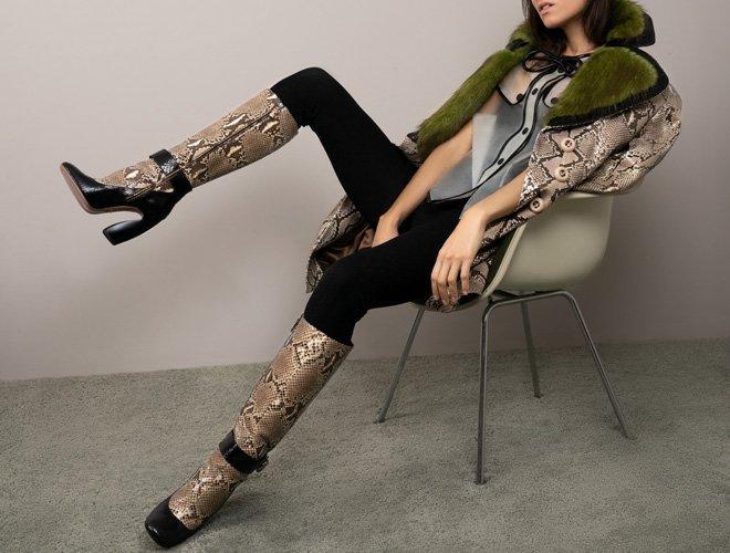 Boots, Animal Print