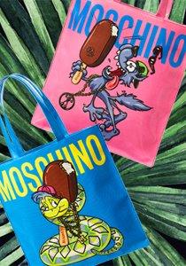 Go wild: Wir verlosen limitierte Moschino x Magnum Taschen im Wert von 540 Franken