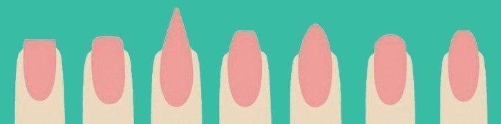 Nägel Formen: Maniküre selber machen