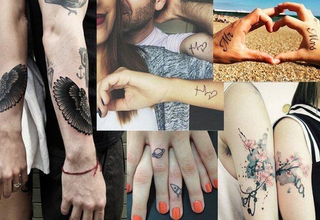Die schönsten Partner Tattoos