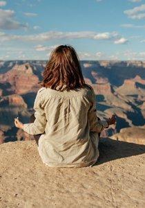 Meditiere dich glücklich