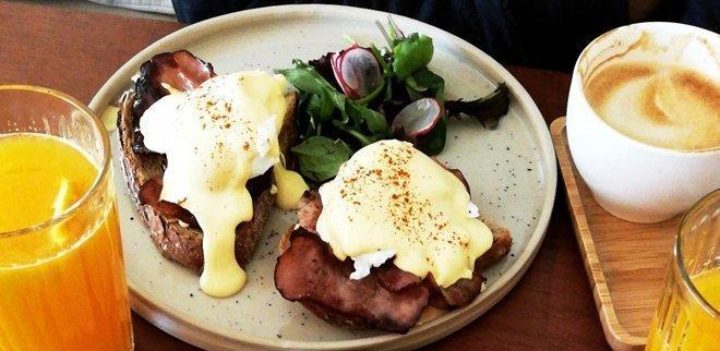 Frühstück in Antwerpen