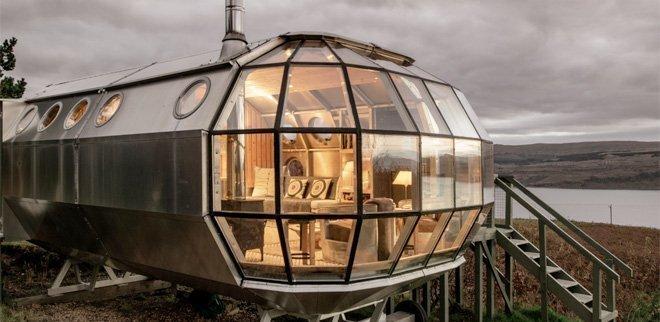 Aussergewöhnliche Airbnb-Unterkünfte in Europa