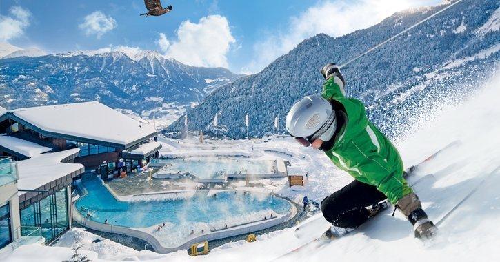 Die schoensten 8 Thermalbaeder der Schweiz.