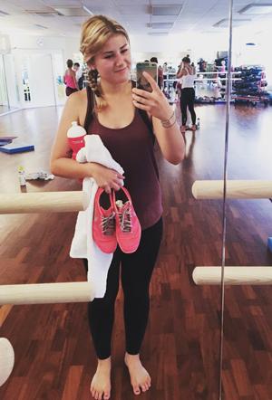 Olivia Maurer beim Hot Fitness
