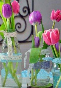 Jetzt wird es bunt: 10 Ideen für die Tischdekoration im Frühling
