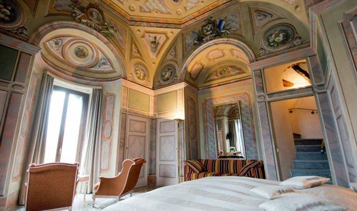 Turmzimmer im Hotel Castello