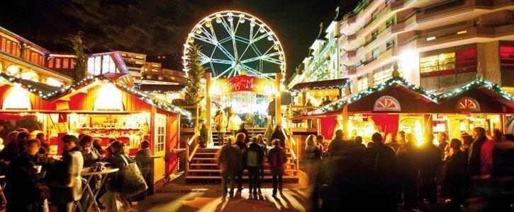 Die schoensten Schweizer Weihnachtsmaerkte