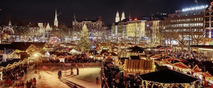 Die schoensten Weihnachtsmaerkte der Schweiz