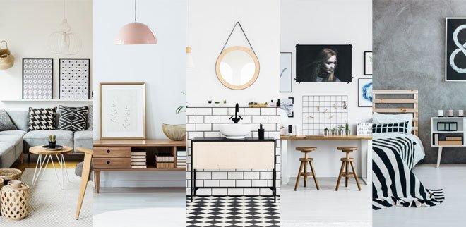 Skandinavische Einrichtung: So stylst du deine Wohnung Raum für Raum im nordischen Look