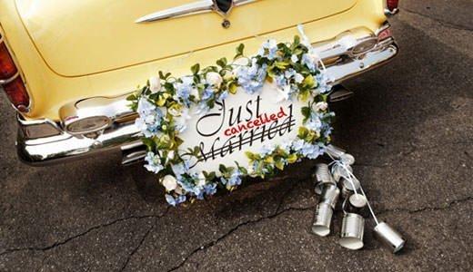Abgesagte Hochzeiten werden in den USA weiterverkauft.