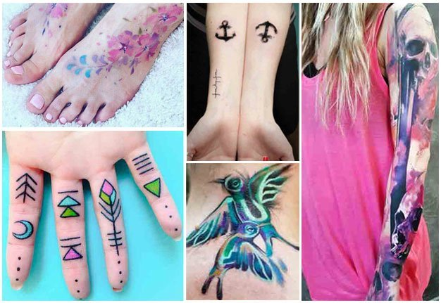 6 Dinge, die du über Aquarell Tattoos wissen musst