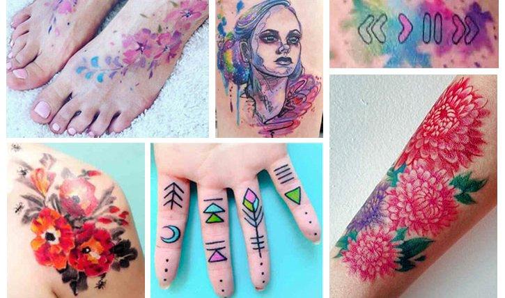 Aquarell Tattoo Picasso Ist Nichts Dagegen