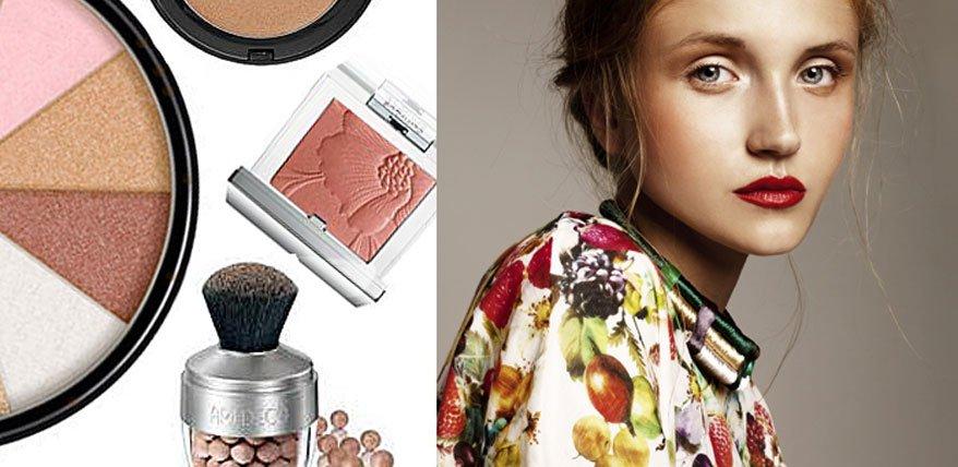 Bronze-Teint schminken: So geht's