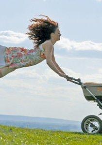 Abnehmen nach der Schwangerschaft: Modelmütter setzten falsche Figur-Massstäbe