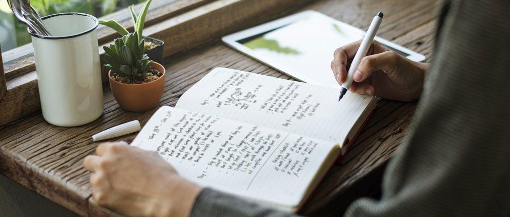 Bullet Journal: Trend-Methode für mehr Ordnung im Notizbuch