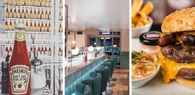 Burger in Zürich: Helvti Diner