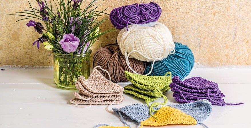 Decke häkeln: Anleitung für eine kuschelige Patchwork-Decke