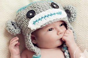 Süsse Strickmützen für Babys