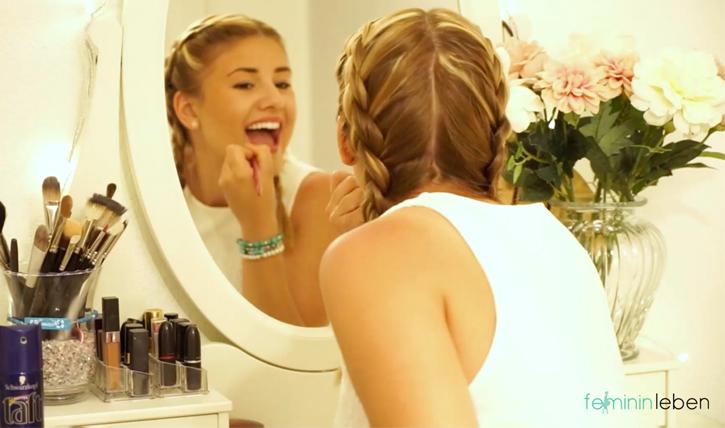 Sommer Make up   Zarte Farben eignen sich perfekt für den Alltag