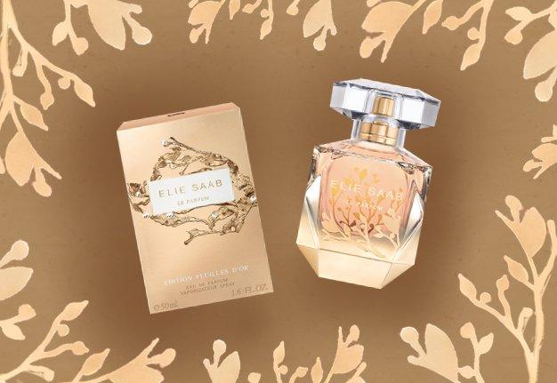 Wettbewerb:   Wir verlosen viermal das Parfum Feuilles d'Or von Elie Saab im Gesamtwert von 454 Franken