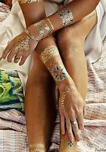 Flash Tattoos: Sommertrend zum Aufkleben