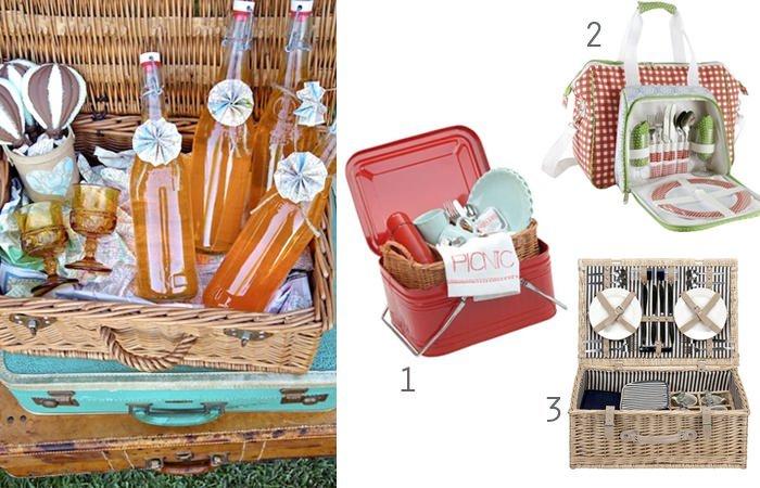 Picknick ideen der picknick korb - Picknick ideen ...