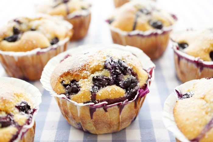 picknick ideen rezept f r blaubeer vanille muffins. Black Bedroom Furniture Sets. Home Design Ideas