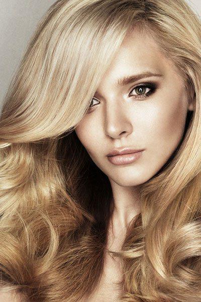 Volumen Frisur Langes Haar